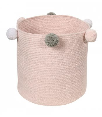 Basket Bubbly Pink