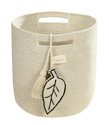 Basket Leaf Natural 30 x 30