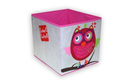 Label-Label - Friends - Storage Box - Owl Girls