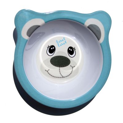 Label-Label - Friends - Melamine Bowl Polar Bear