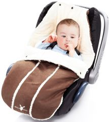 Wallaboo! Footmuff newborn chocolat