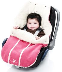 Wallaboo! Footmuff newborn sweet pink