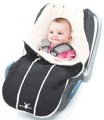 Wallaboo! Footmuff newborn baby black