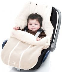 Wallaboo! Footmuff newborn ecru
