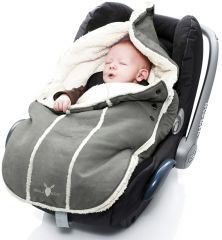 Wallaboo! Footmuff newborn grey