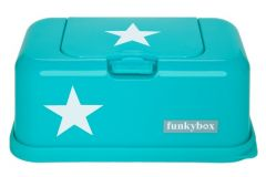 FB01 Funkybox Aqua White Star