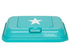 Funkybox To Go Aqua White Star