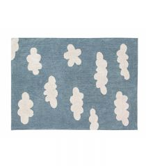 Clouds Vintage Blue 120 cm x 160 cm