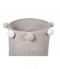 Basket Bubbly Grey