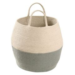 Basket Zoco Vintage Blue - Natural