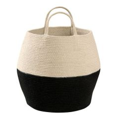 Basket Zoco Black - Natural