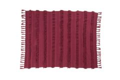 Kuscheldecke Baumwolle Air Savannah Red 125 x 150 cm
