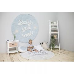 Mr. Wonderful Collection - Baby, you rock! 120 x 120 cm