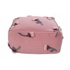 ENGLISH GARDENS: Pouffe English Garden Ash Rose