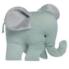 Elefant Sparkle gold-mint meliert