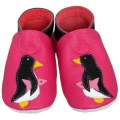 Dolcino Schuh 12-18 Monate Pinguin Pink