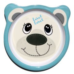 Label-Label - Friends - Melamine Plate Polar Bear