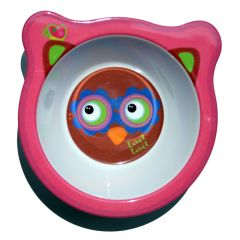Label-Label - Friends - Melamine Bowl Owl Girls